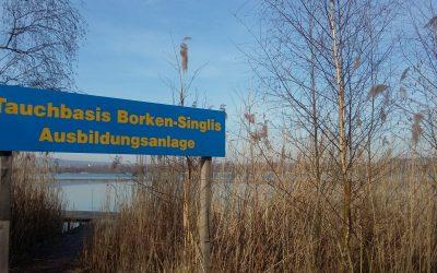 Taucheinstieg Singliser See fertiggestellt!